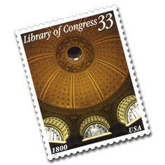 2000 33c Library of Congress Scott 3390 Mint F/VF NH  www.saratogatrading.com