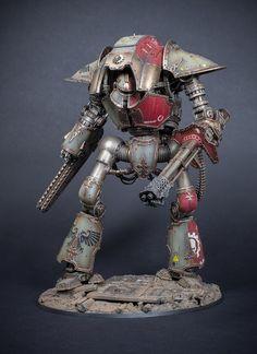 Gavin Lee Manners : Creations: Imperial Knight Acheron [Honour]