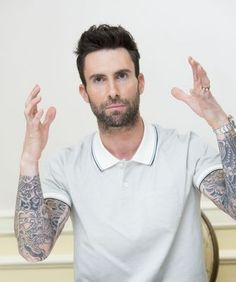 Celebrity Gossip, Celebrity News, Adam Levine Style, Sexy Men, Hot Men, Hot Guys, Mens Polo T Shirts, Adam Style, Vogue
