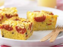 Recipes+ shows you how to make this polenta and vegetable bread recipe.