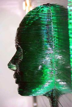 """VITRUBIA"" Project - Floating Glass Sculpture - Signed by the Glass Art creative Josep SanJuan - Glass Art"