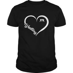 Love Wrestling T-Shirt , This t-shirt is Made To Order, one by one printed so we can control the quality. Wrestling Mom Shirts, Wrestling Quotes, Cool Shirts, Tee Shirts, School Spirit Shirts, Thing 1, Dance Shirts, T Shirt World, Sports Mom