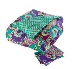 Reversible Comforter Set Full/Queen in Heather, $189 | Vera Bradley