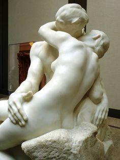 """The Kiss,"" Rodin Museum, Benjamin Franklin Parkway, Philadelphia (photo: J. Rogers)"