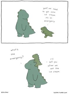 Liz Climo Rory the Dinosaur Me and My Dad comics ice cream