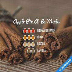 Fall Essential Oils, Vanilla Essential Oil, Essential Oil Diffuser Blends, Essential Oil Uses, Diffuser Recipes, Diffuser Diy, Aromatherapy Oils, Perfume, Back To Nature