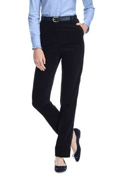 Women's+7+Day+Elastic+Back+Corduroy+Pants+from+Lands'+End