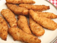 Use white fish, such as cod or haddock, to make these delicious fish goujons with minted mushy peas.