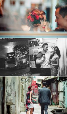 Roaming the streets of Hong Kong // Pre-wedding in hong kong // film photography by thegaleria Brian Ho via OneThreeOneFour.com