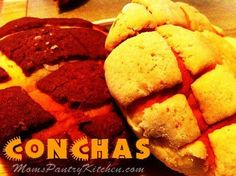 Conchas http://www.momspantrykitchen.com/conchas.html
