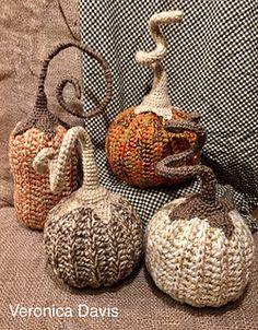 Thanksgiving Crochet, Crochet Fall, Halloween Crochet, Crochet Home, Diy Crochet, Crochet Crafts, Crochet Doilies, Yarn Crafts, Crochet Flowers