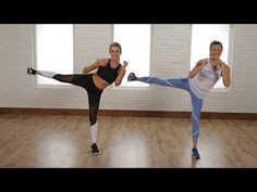 5-Minute Standing Flat-Belly Workout | Class FitSugar - YouTube