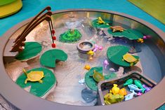 LaunchPAD Children's Museum - water table