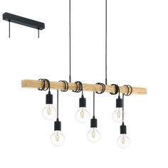 95499 / TOWNSHEND / Oświetlenie wnętrz / Podstawowe kolekcje / Produkty - EGLO Lights International
