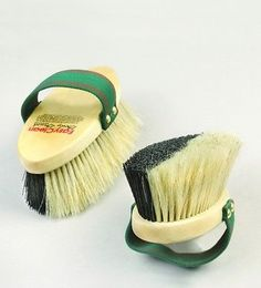 Curry Combs 183397: Vale Easy Clean Body Brush BUY IT NOW ONLY: $36.95