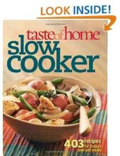 slow cooker cook books