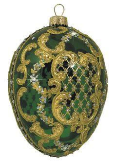 Edward Bar Ornament Egg Green Christmas Ornament Handmade Christmas  $44.00  -  eBay