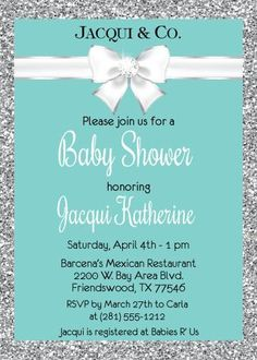 Baby and Co. Shower Invitations #invitation #baby #shower #babyandco