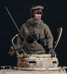 German WSS PanzerIV Tank Commander -