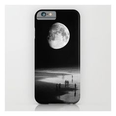 To The Moon iPhone & iPod Case ($35) ❤ liked on Polyvore featuring accessories, tech accessories, phone, tech, phone cases and iphone & ipod cases