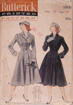 Butterick 5906 (1951)