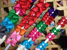 Just a taste of our assortment of bows