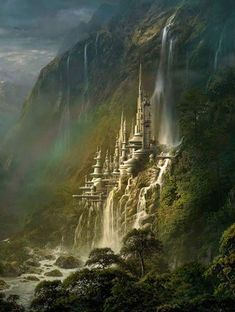 The Amazing Waterfall Castle – Poland. I really want to go here, I have family i… The Amazing Waterfall Castle – Poland. I really want to go here, I have family in Poland, so this would be amazing to see! Fantasy Places, Fantasy World, Waterfall Castle Poland, Beautiful Castles, Beautiful Places, Wonderful Places, Amazing Places, Places To Travel, Places To See
