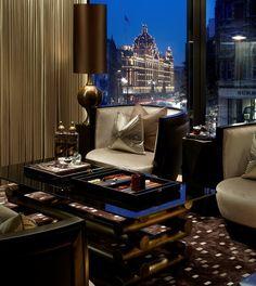 One Hyde Park Penthouse in London - Trendir Interior Exterior, Interior Architecture, Luxury Interior, Room Interior, Luxury Apartments, Luxury Homes, Harrods, One Hyde Park, Suite Principal