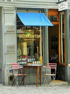 European Cafe, downtown Zurich, Switzerland.