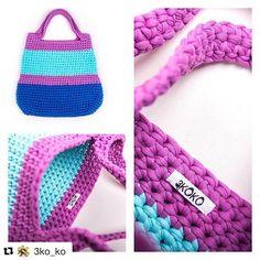 А теперь о том, как мы пришиваем бирки  Эта сумка-tote #3koko сегодня уже гуляла по большому городу и делала этот прекрасный летний день ещё красивее и ярче) #3ko_ko #трикотажныесумки #3котаж #3koтаждляжизни #изтрикотажнойпряжи #пряжалиана #tote #totebag #knittingbag #trapilho #trapillo #tshirtyarn #knitting #crochetlove #crochet #crochetbag #knittingbag #photo