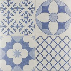 Skyros Delft Blue Wall & Floor Tile 5