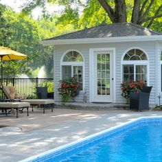 ideas about Small Pool Houses on Pinterest Pool
