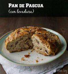 Pan de pascua con levadura #pandepascuaantiguo