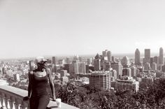 POSTCARD FROM MOUNT ROYAL... by Richelle Desiree