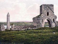 Devenish Island Ruins. Lough Erne. County Fermanagh, Ireland