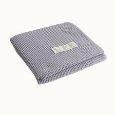 Organic Merino Knit Blanket | Nature Baby