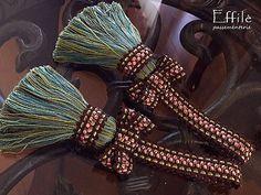 Bow Key tassels Effie passementerie by Decor CLASSIQUE