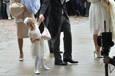 Prince Oscar's christening.