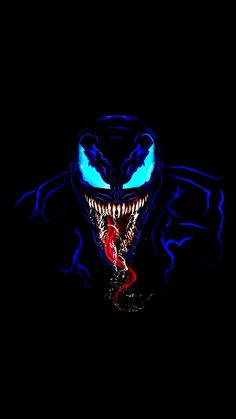 Venom in Dark iPhone Wallpaper - Marvel - Venom Comics, Marvel Venom, Marvel Art, Marvel Heroes, Venom Spiderman, Marvel Avengers, Marvel Comics, Cool Venom Wallpapers, Venom Pictures