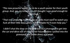 Quote and pic - The Shattered Door.