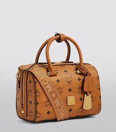 MCM TASCHE ORIGINAL Vintage Bowling Heritage Bag Ohne