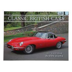 Celebrate the style and performance of British cars every day of the year with this 2017 calendar. One of the foremost automotive photographers in the country has captured the essence of classic British marques, including MG, Triumph, Austin-Healey, Jaguar, and Lagonda. Hang it on your wall or give it as a gift, and admire the lasting tradition of these classic automobiles. Opened Dimensions: 13.25 x 20 inches.