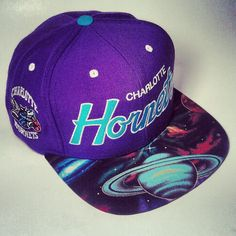 Charlotte Hornets Script Custom Snapback Hat Cap by Brimproper, $59.99