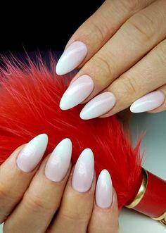 French Pink Gel Polish & Sugar Effect Gel❤️ by Angelika Wróbel, Indigo Pabianice #nails #nail #babyboomer #ombre #pink #nude #pastel #indigo #autumn #fall #almondnails
