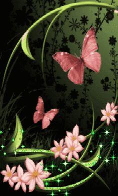 Animated Gifs, Butterflies, part 6