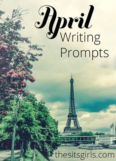 Struggling to come up with blog content? We have 30 days of writing prompts for April. It's the perfect list to get you inspired to write this spring.
