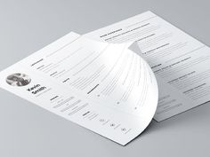 Resume Template by Mats-Peter Forss