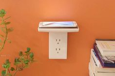 The Wireless Charger Can be Mounted on the Wall