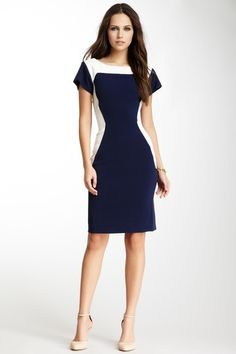 Cutout Back Dress by Rachel Roy