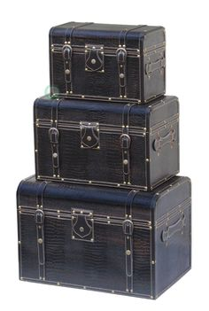 storage trunk 3 piece set